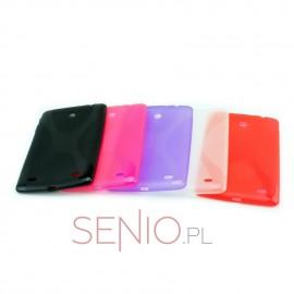 Dedykowane, silikonowe etui (plecki) do tabletu LG G Pad 8.0 V480 / V490 – gumowe, dopasowane
