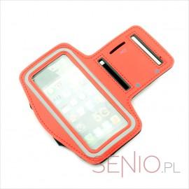 Etui na ramię na telefon Apple iPhone 5G - czerwone