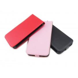 Czarne zamykane etui do telefonu Nokia Lumia 1320
