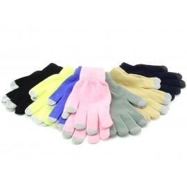 Rękawiczki do tabletów, smartfonów, ekranów dotykowych – kolory