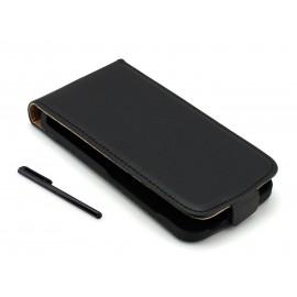 Pokrowiec ze skóry ekologicznej do telefonu HTC Desire 210