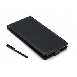 Pokrowiec z eko-skóry do telefonu Sony Xperia C3 D2533