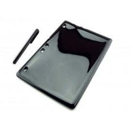 CZARNE gumowe elastyczne etui do tabletu Lenovo Tab 2 A10-70 L,F
