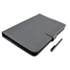 Etui z klawiaturą USB do tabletu 10,1 cala   pokrowiec na tablet Kiano Core 10.1 Dual 3G, Shiru, Tracer, Yarvik