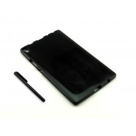 CZARNE elastyczne etui na tablet Lenovo Tab3 8 Plus