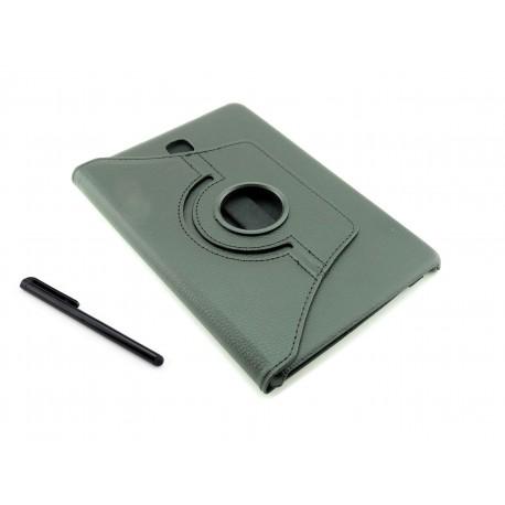 Czarne obrotowe etui do tabletu Samsung Galaxy Tab A 8.0 (T350/T355/P350)