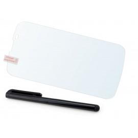 Szkło hartowane na telefon LG L Prime D337 (tempered glass) + GRATISY