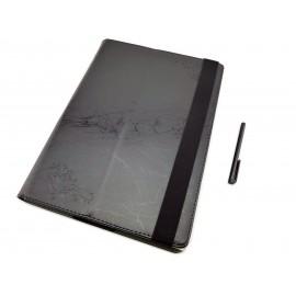 Etui ksiązkowe na tablet Lenovo MiiX 510 z możliwością włożenia z klawiaturą