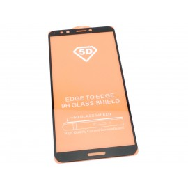 Zaokrąglone szkło hartowane 3D do telefonu Huawei Y7 Prime (2017) (TRT-L53, TRT-L21A) w dobrej cenie, tempered glass