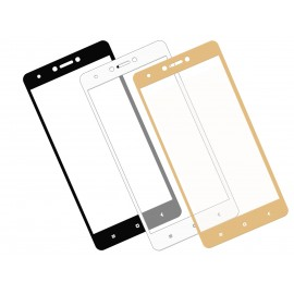 Zaokrąglone szkło hartowane 3D do telefonu  Xiaomi Redmi Note 4x - dobra cena, 9h, tempered glass
