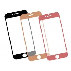 Zaokrąglone szkło hartowane 3D do telefonu Apple iPhone 8 (A1863, A1905), w dobrej cenie, kolory, 9H, tempered glass