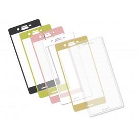 Szkło hartowane 3D do telefonu Sony Xperia X, na cały ekran, curved, 9H, tempered glass, dobra cena
