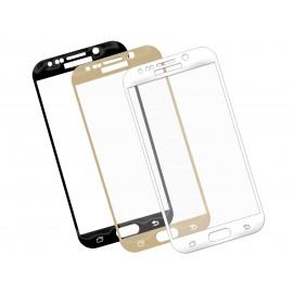 Szkło hartowane 3D do telefonu Samsung Galaxy S6 Edge, na cały ekran, w dobrej cenie, curved, 9H, tempered glass,