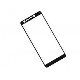 Zaokrąglone szkło hartowane 3D do telefonu Asus ZenFone 5Q ZC600KL - kolor CZARNY