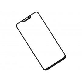 Zaokrąglone szkło hartowane 3D do telefonu Asus ZenFone 5 ZE620KL - kolor CZARNY