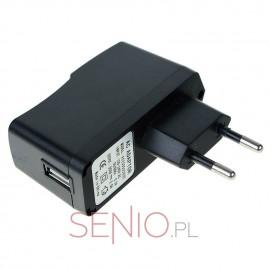 Ładowarka sieciowa z gniazdem USB do tabletu 5V 2A (2000mA)
