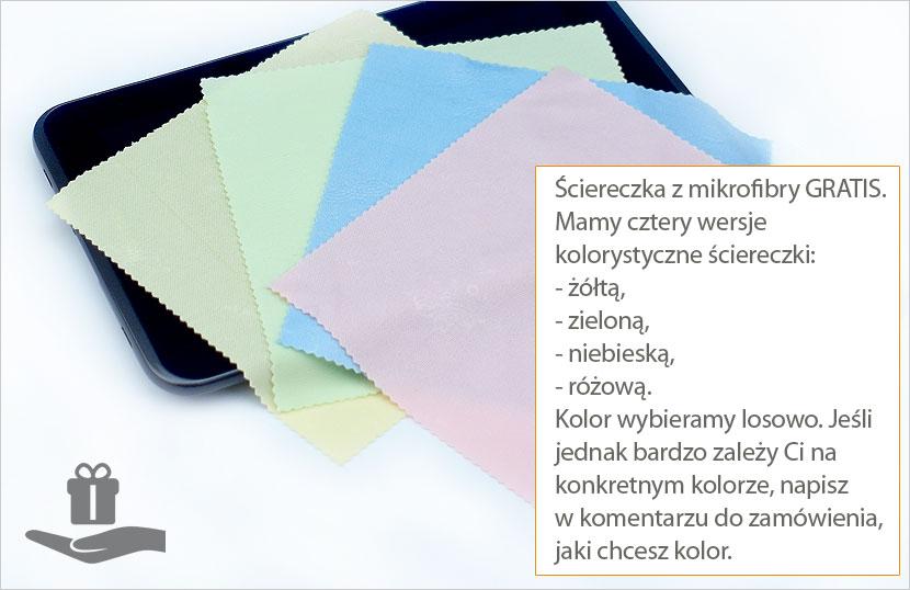 Ściereczki z mikrofibry gratis do tabletu Samsung Galaxy Tab 7.7