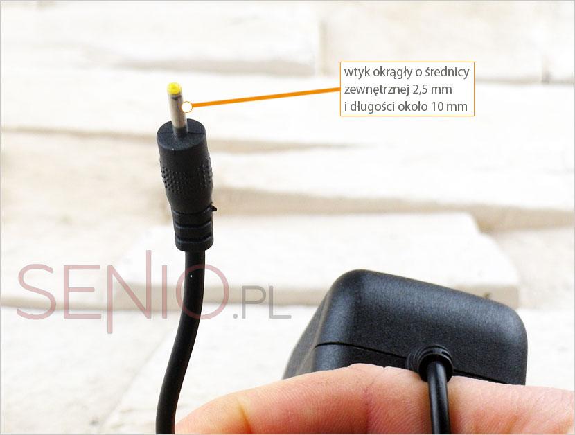 Wtyczka zasilacza do Manta Duo Power 10 HD MID 1002