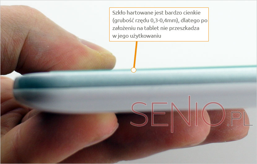 Grubość tempered glass do tabletu Acer Iconia Tab 10 A3-A40