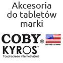 Akcesoria na tablety firmy COBY Kyros