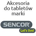 Akcesoria na tablety firmy Sencor