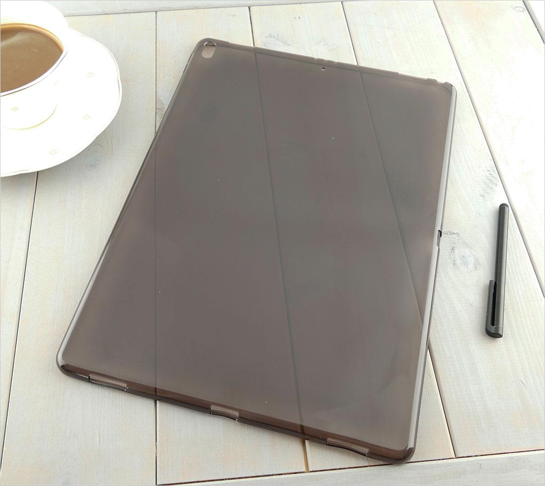 CZARNE elastyczne etui do tabletu Apple iPad Pro 12,9 cala 2017