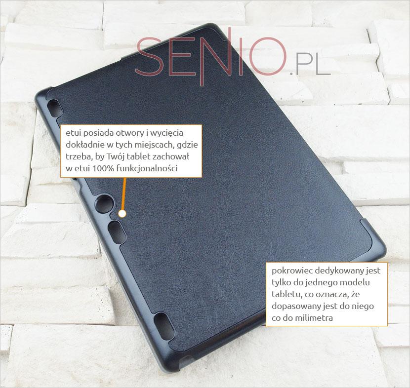 Pokrowiec zamykany Lenovo PHAB PB1-750N 6,98 cala