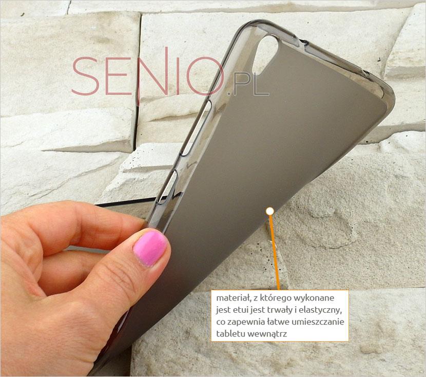 Etui elastyczne na tablet  Lenovo PHAB PB1-750N 6,98 cala