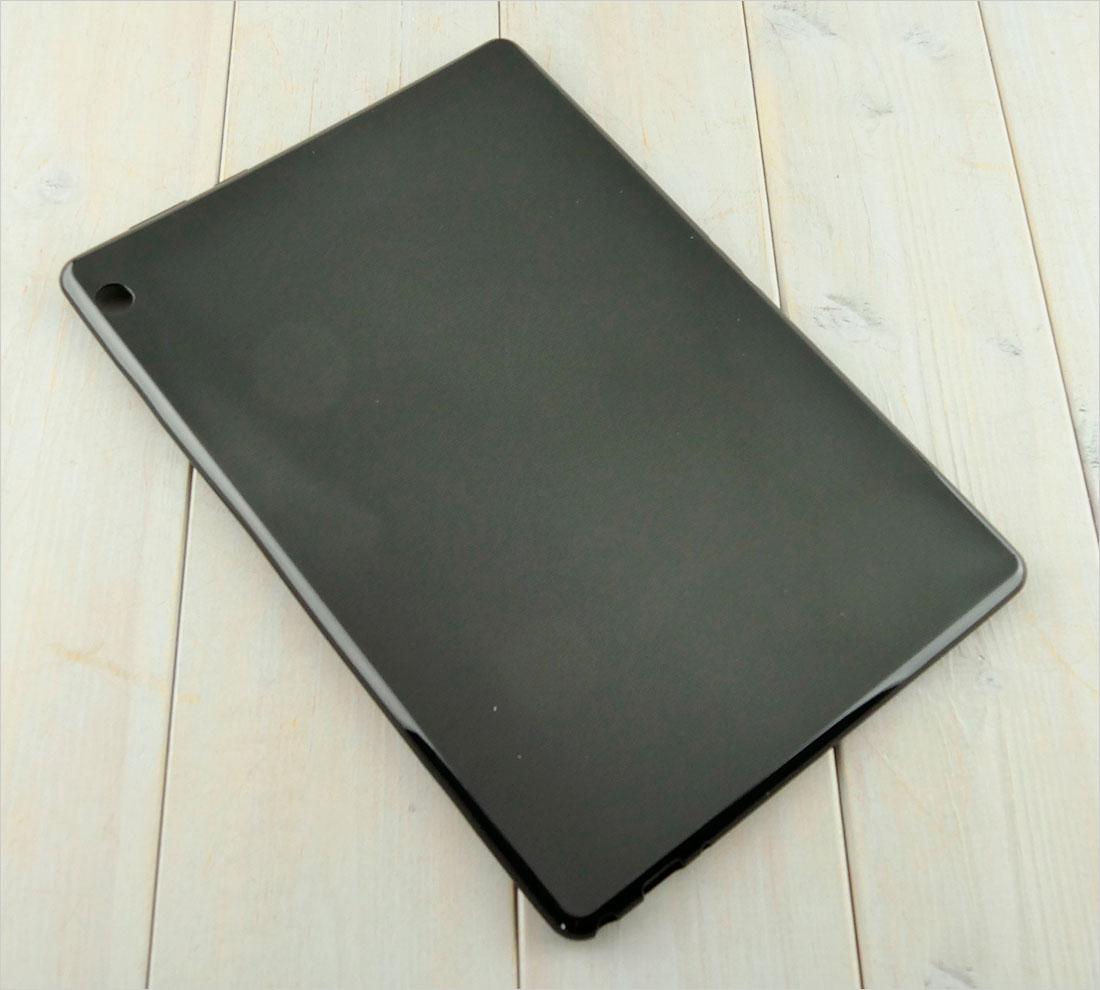 PRZEZROCZYSTE elastyczne etui do tabletu Lenovo M10 TB-X605 TB-X605F TB-X605L 10.1 cala