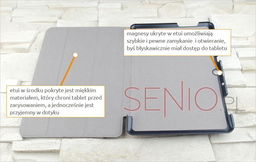 dopasowany pokrowiec na tablet Acer B3- A10