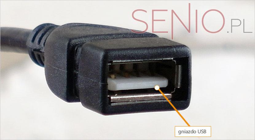 Przejściówka micro-USB do gniazda USB