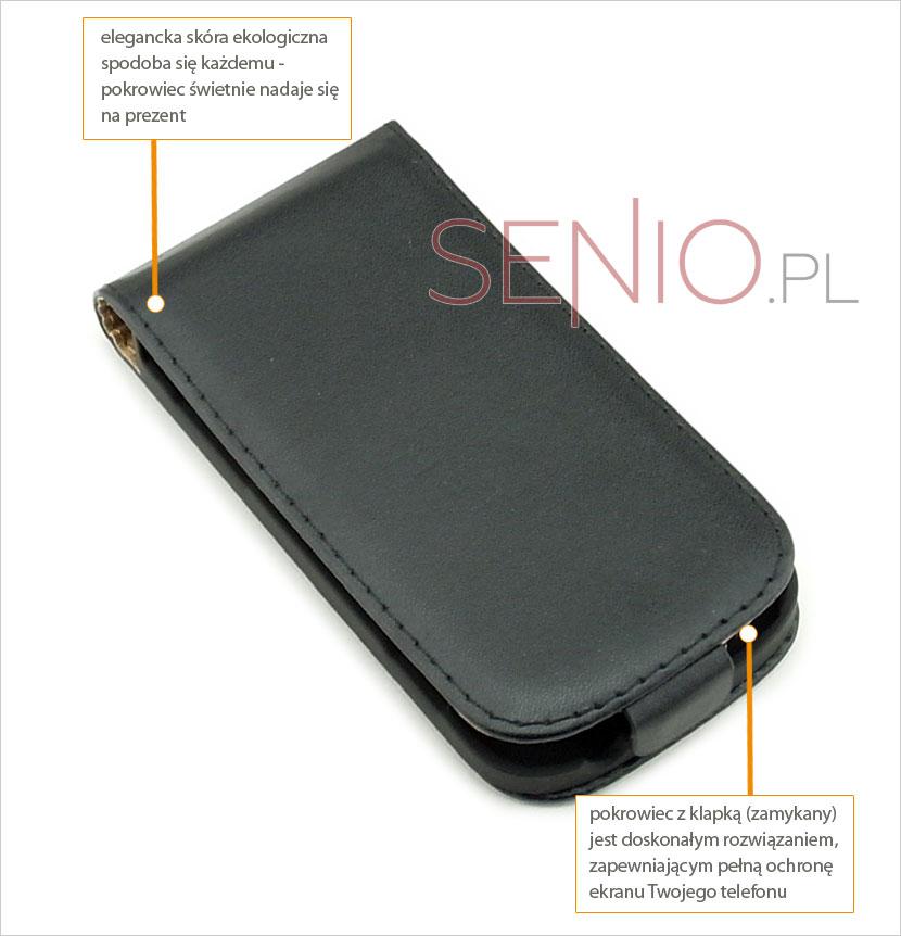 Elegancki futerał do smarfona Samsung Galaxy S3 i8190