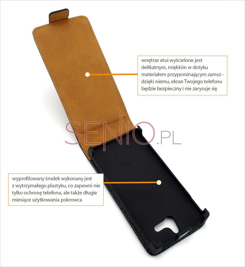 pokrowiec na telefon Sony Xperia U
