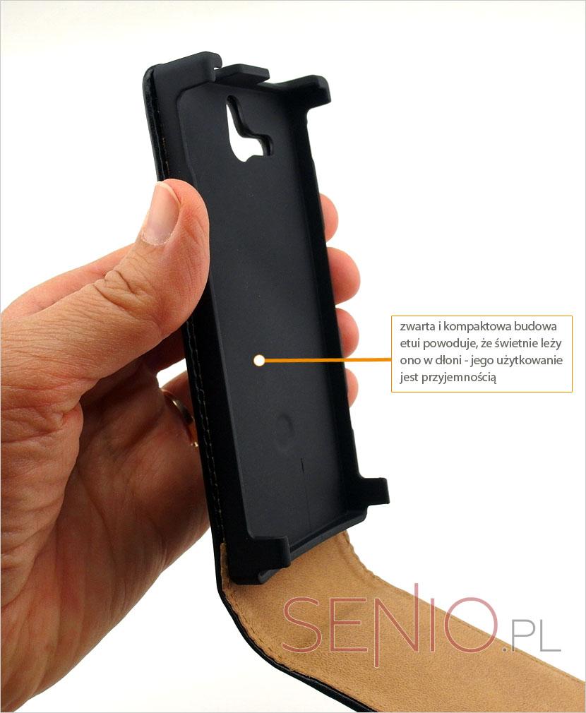 kabura na telefon z eko-skóry