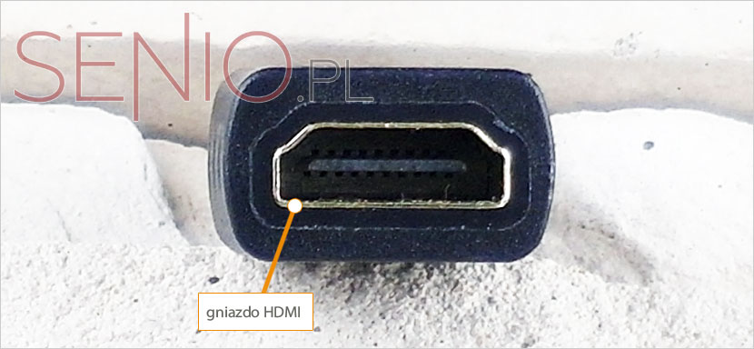 Przejście: HDMI - mini HDMI do tabletu
