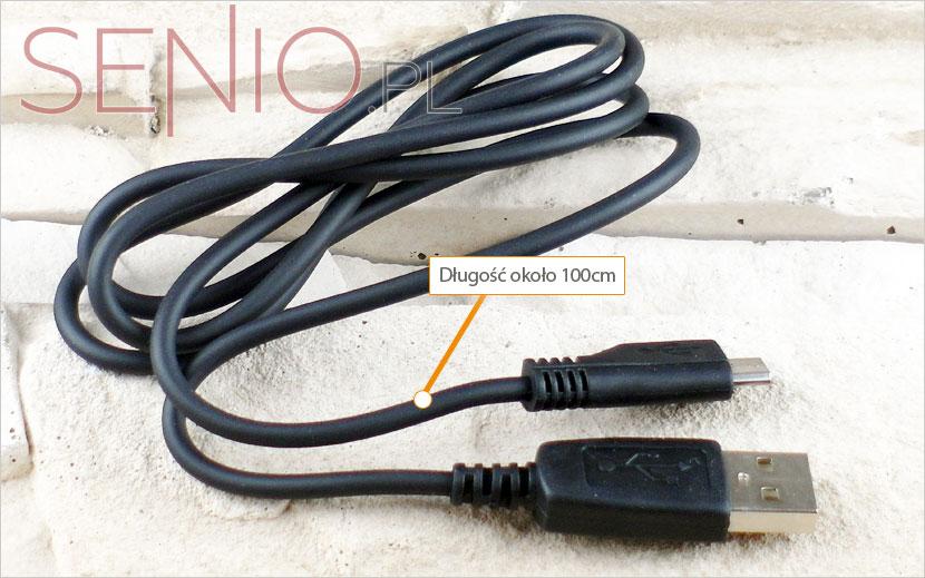 Kabel: micro USB do zwykłego USB – do tabletu