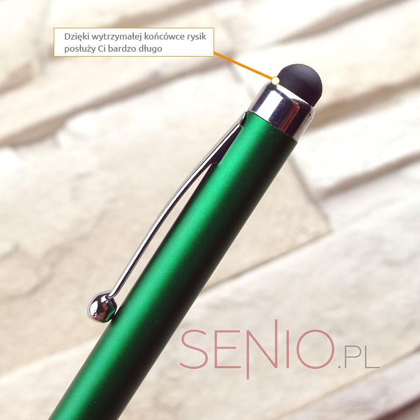 Rysik pojemnościowy z długopisem z końcówką