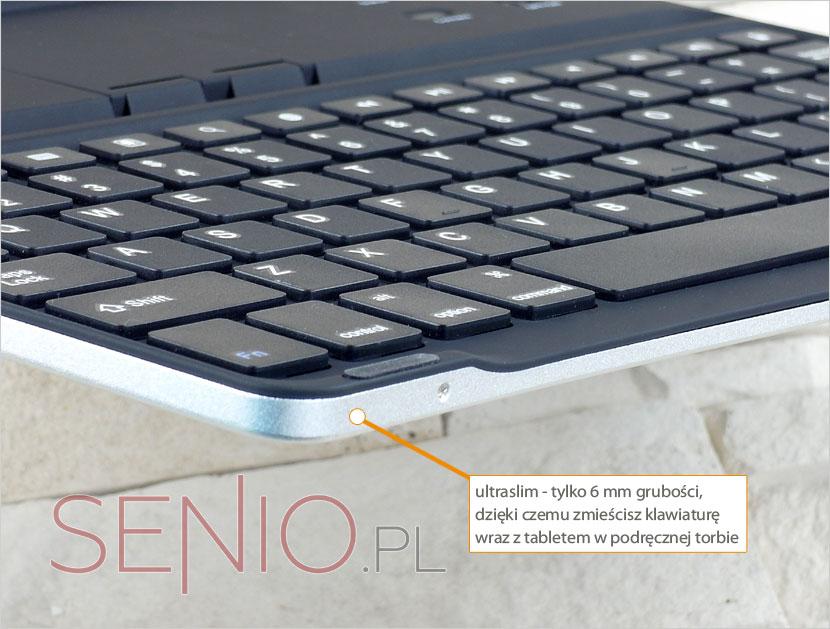 Klawiatura ultraslim do  do iPada 2 i nowego iPada