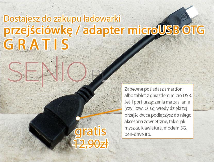 Przejściówka adapter jako gratis do zamóeienia