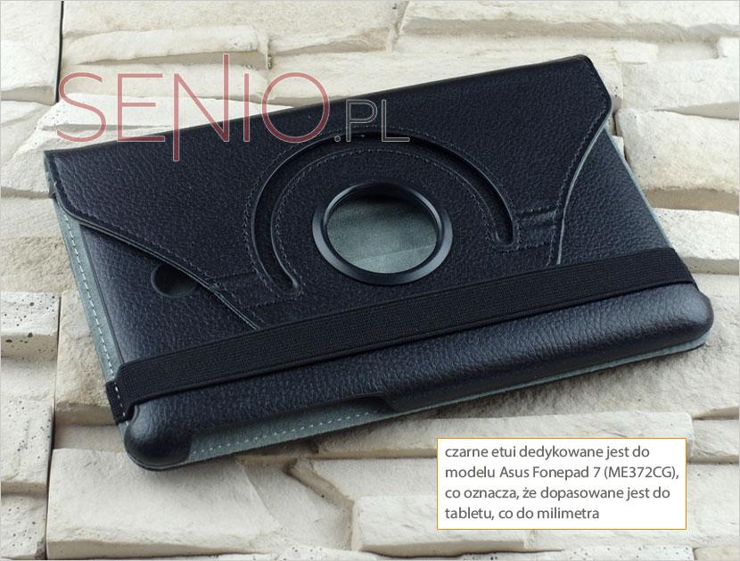 Eleganckie etui dedykowane idealnie pasujące do Asus Fonepad 7 ME372CG
