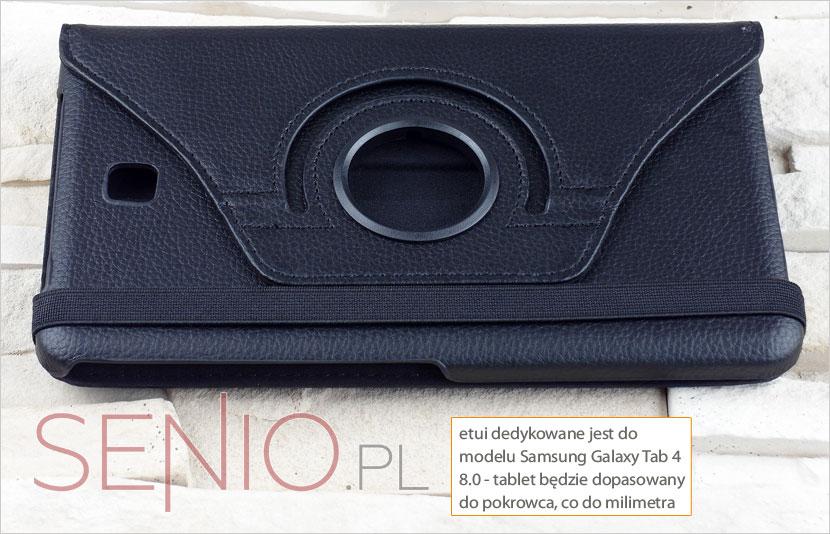 Pokrowiec pasujący wyłączni do tabletu Samsung Galaxy Tab 4 8.0 (T330