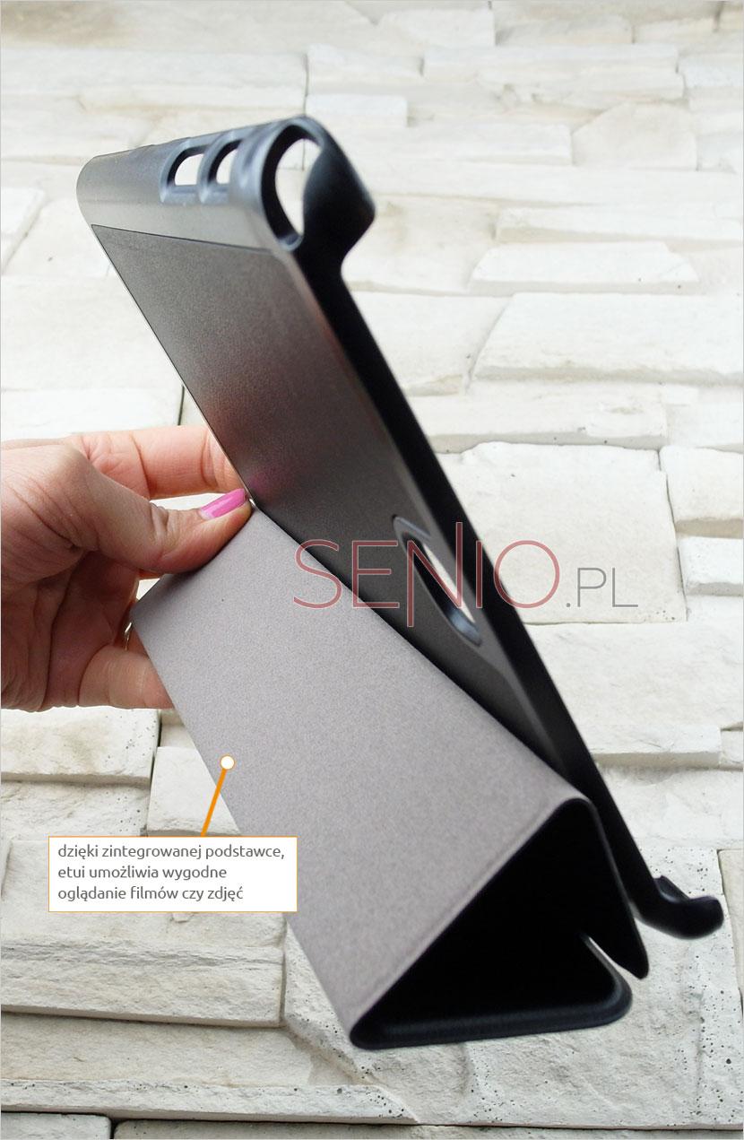 Praktyczna podstawka w pokrowcu na tablet Samsung Galaxy Tab A 8.0 (T350)