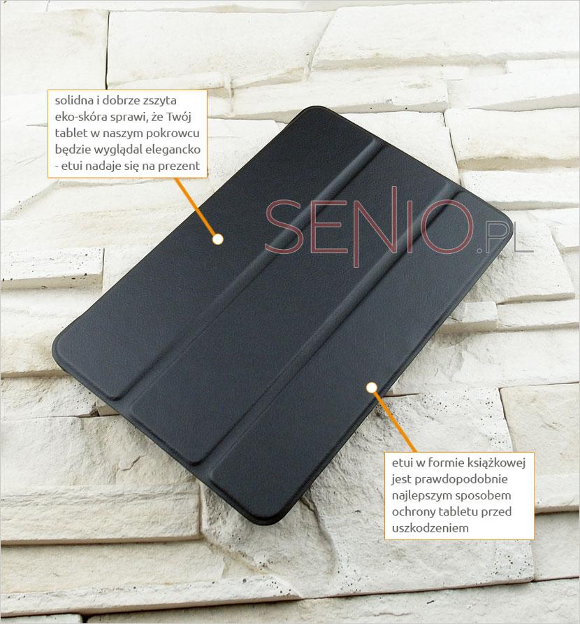 Elegancki pokrowiec na tablet Samsung Galaxy Tab A 8.0 (T350)