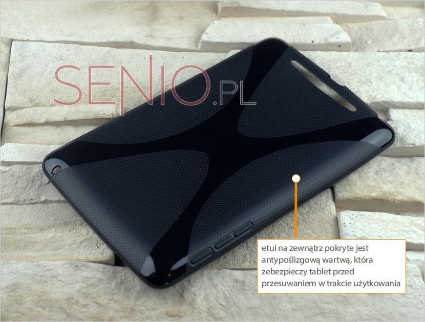 Etui silikonowe dedykowane do tabletów Nexus 7