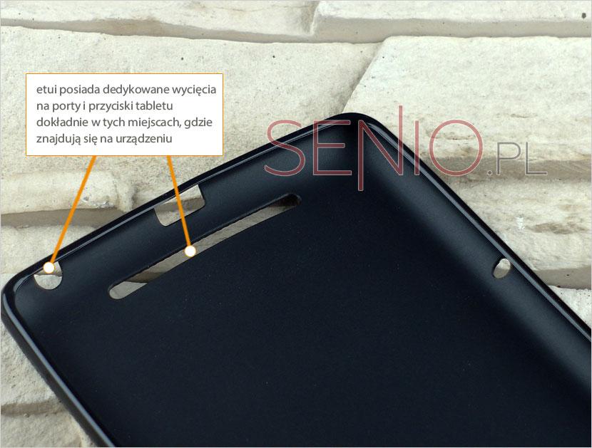 Etui gumowe dedykowane do tabletu Asus Google Nexus 7