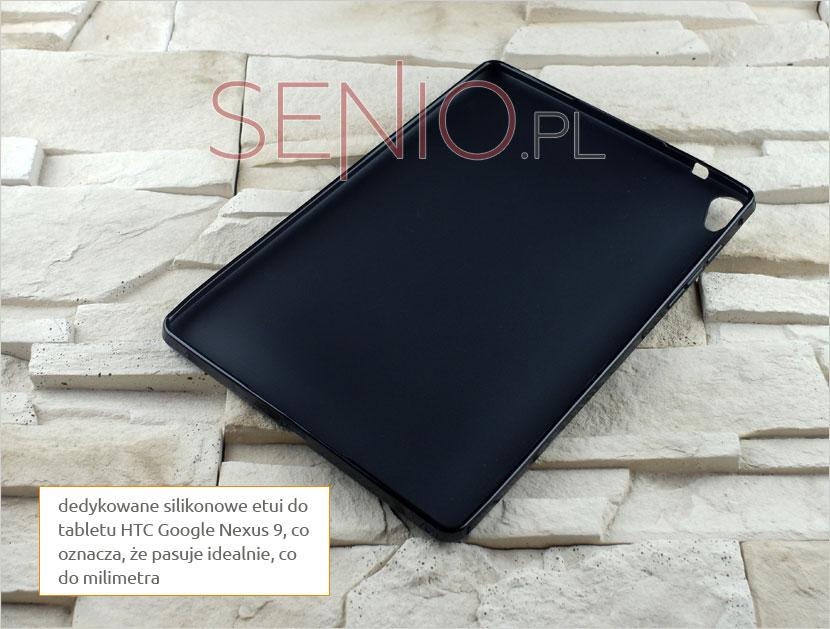 Pokrowiec silikonowy rekomendowany na tablet HTC Google Nexus 9