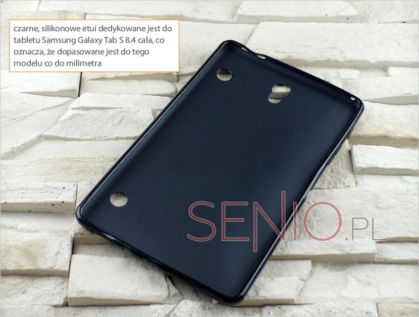 Etui z wyprofilowanymi otworami na tablet Samsung Galaxy Tab S (T705C