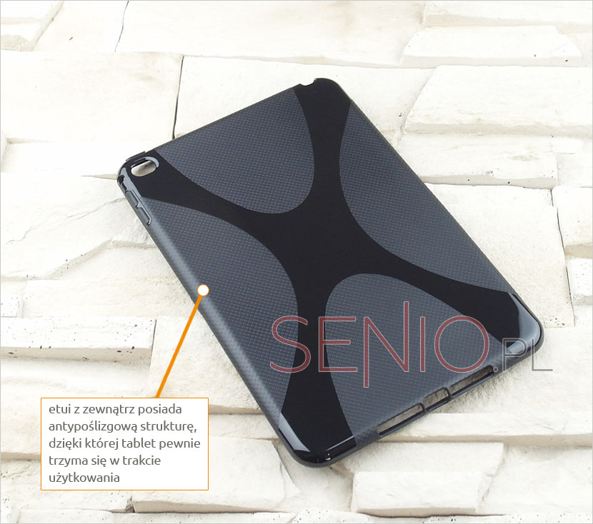 Silikonowe plecki na tablet  Apple iPad mini 4