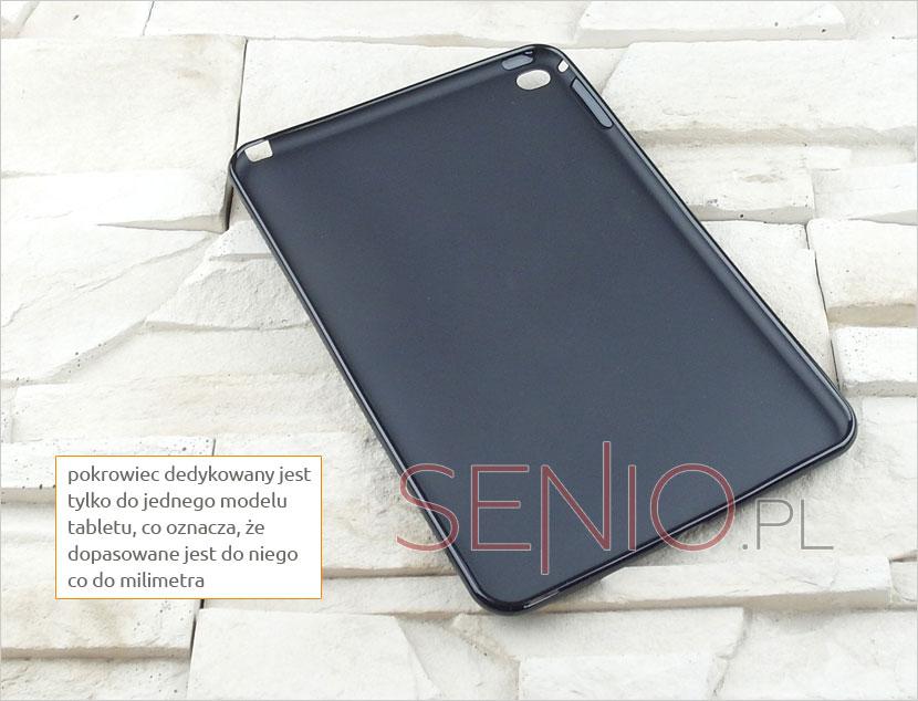 Pokrowiec silikonowy dedykowany do modelu tabletu  Apple iPad mini 4