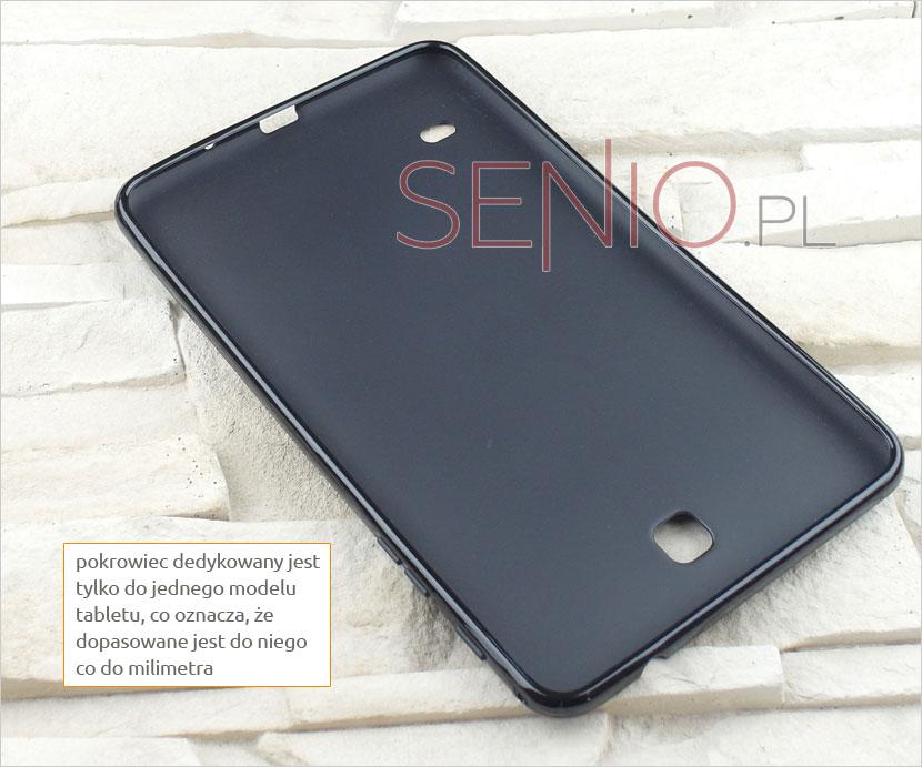 Pokrowioec dedykowany i dopasowany co do milimetra na tablet Samsung Galaxy Tab 4 8.0 (T330 / T335)
